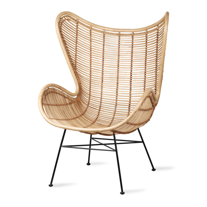 Rattan Egg Chair, natural from HKliving