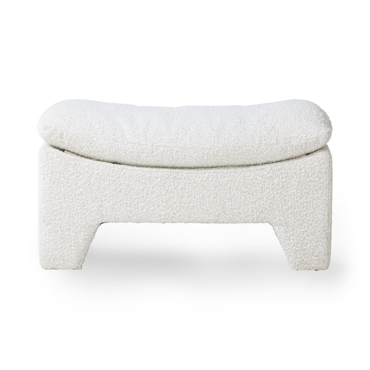 Retro Lounge Ottoman, cream from HKliving