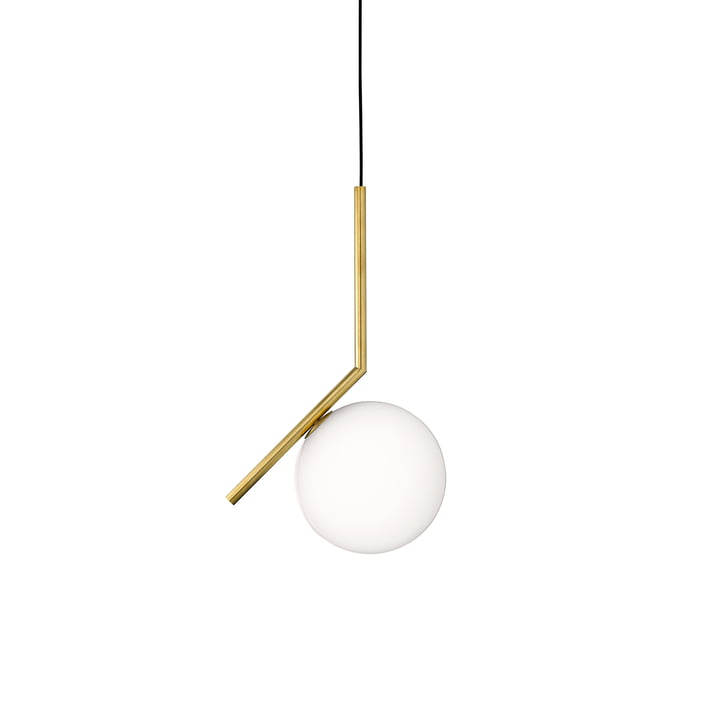Flos - IC S1 BRO pendant lamp, brushed brass