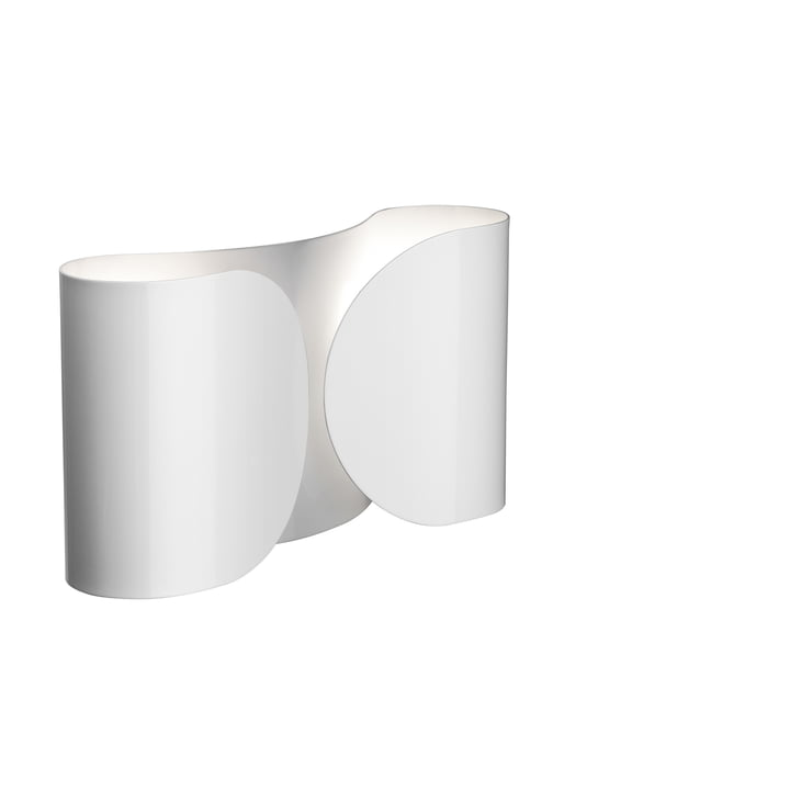 Foglio wall lamp, white by Flos