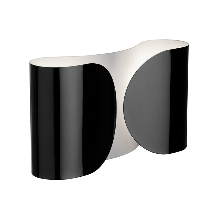 Foglio wall lamp, black by Flos