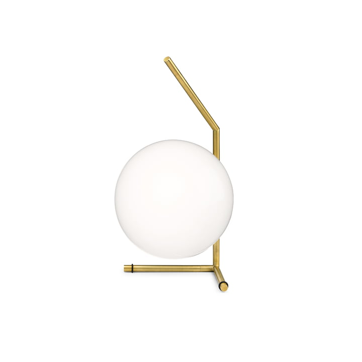 IC T1 Low BRO table lamp by Flos in brass