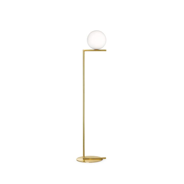 IC F1 BRO floor lamp by Flos in brass