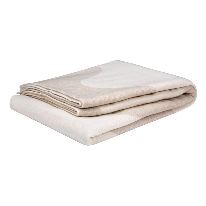 The Lokki blanket from Marimekko in white / beige