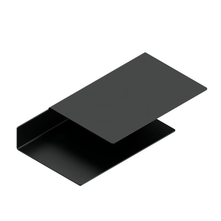 The Float Shelf wall shelf from New Tendency in black