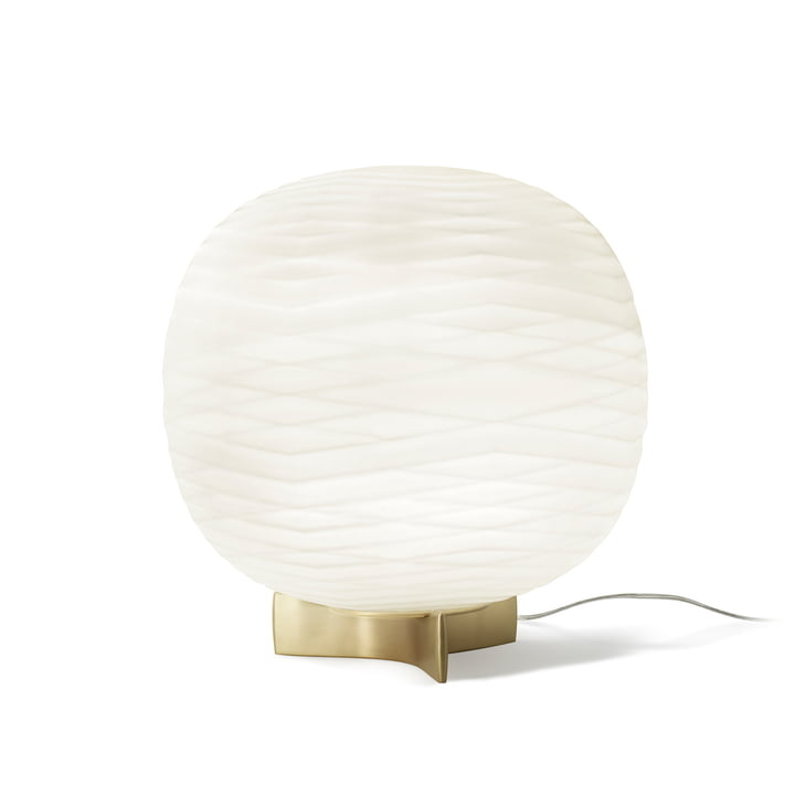 Gem Table Lamp with dimmer by Foscarini in white