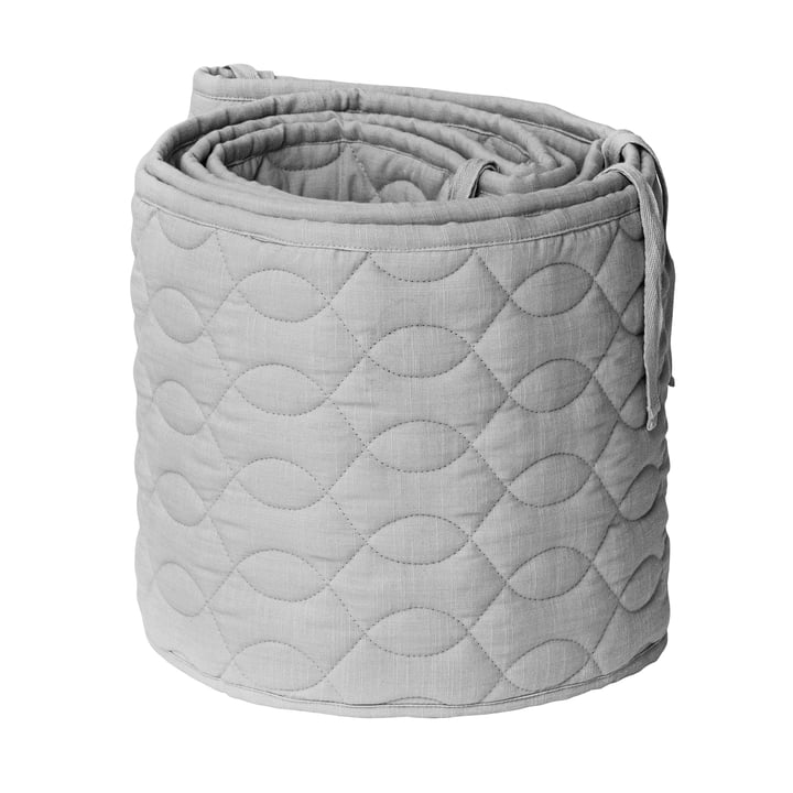 The baby bed nest from Sebra , stitched / elephant grey