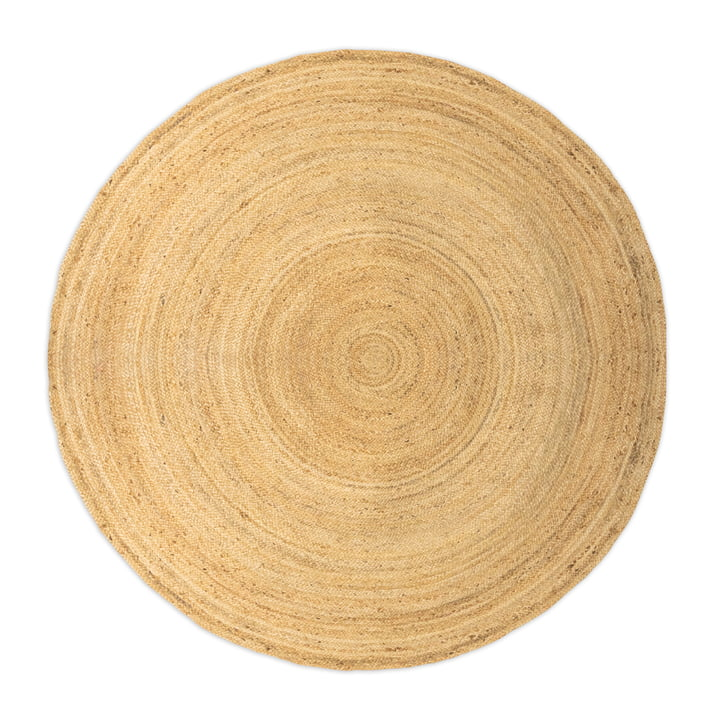The jute carpet from Collection , natural