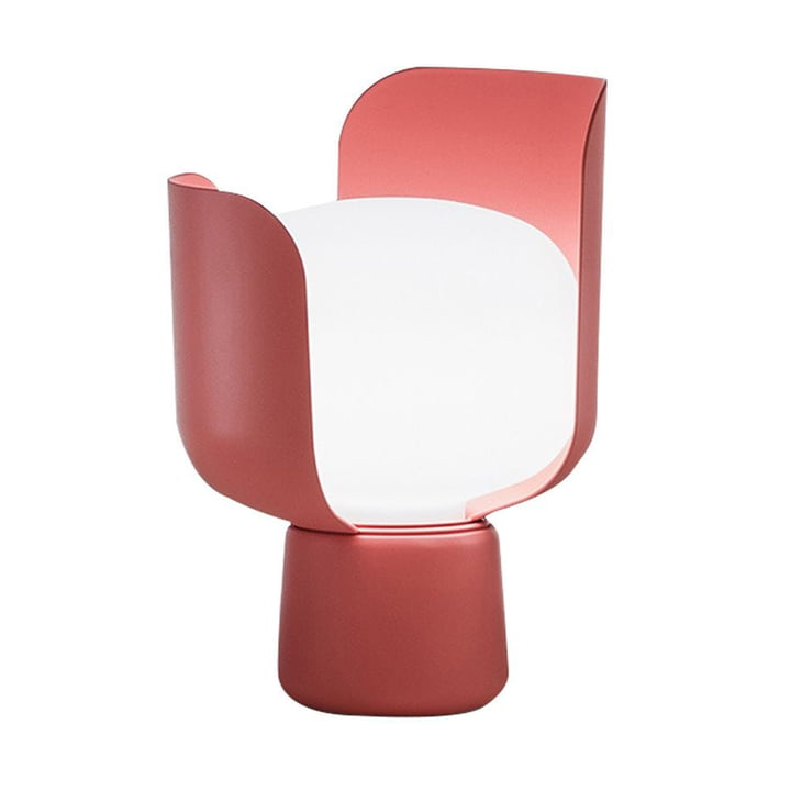 The Blom Table lamp from FontanaArte in pink