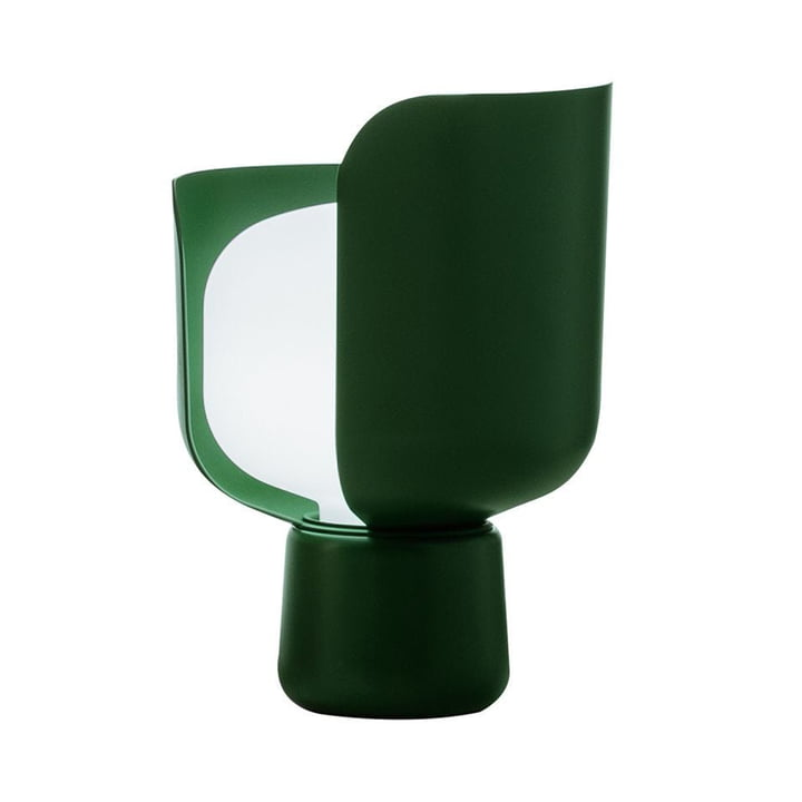 The Blom Table lamp from FontanaArte in green