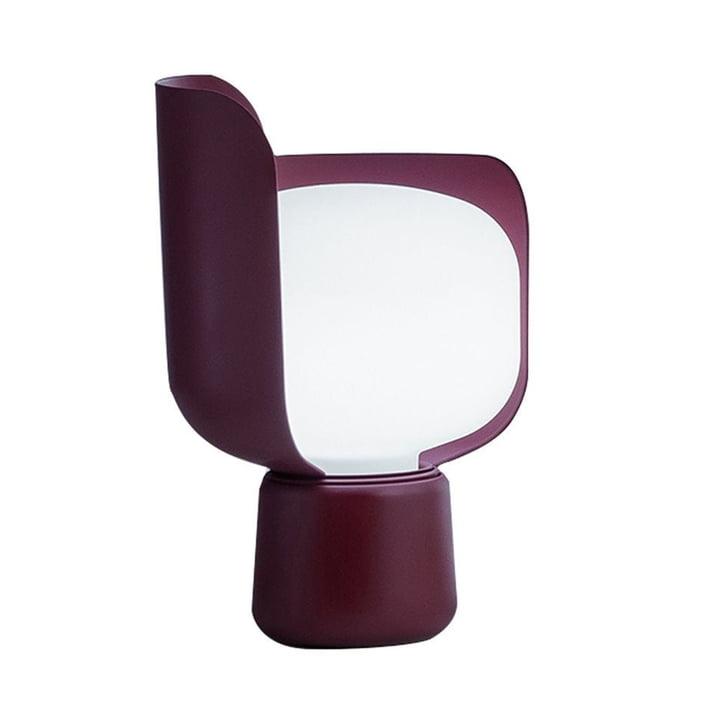 The Blom Table lamp from FontanaArte in purple