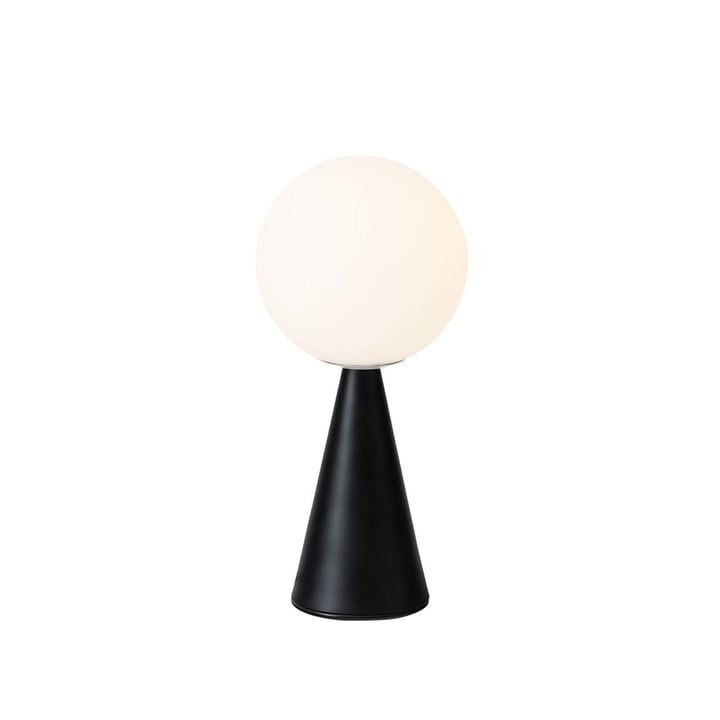 The Bilia table lamp from FontanaArte in black