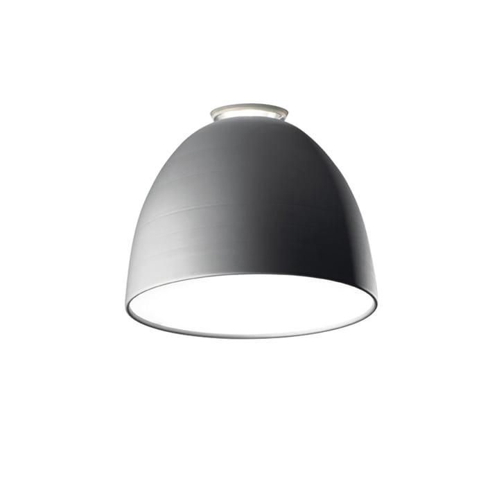 Artemide - Nur Mini Soffitto Ceiling Lamp, aluminium grey