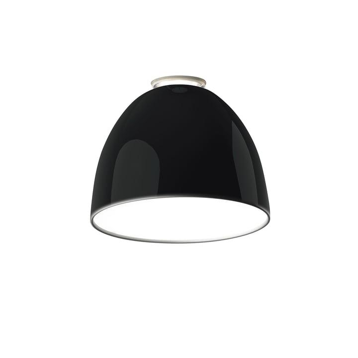Artemide - Nur Mini Soffitto Ceiling Lamp, black