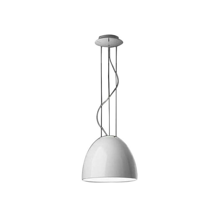 Artemide - Only Mini Gloss pendant lamp, halogen lamp, white