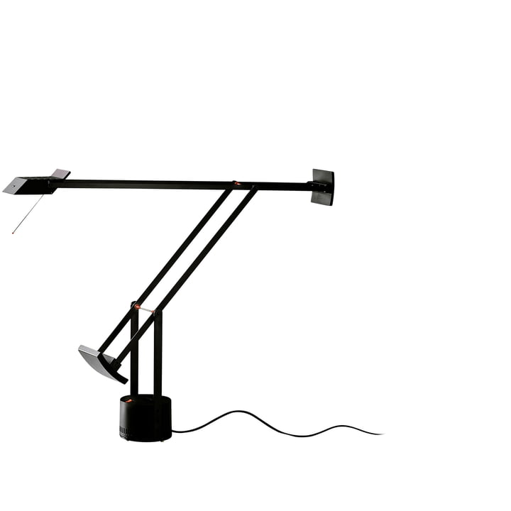 Artemide Tizio table lamp, black