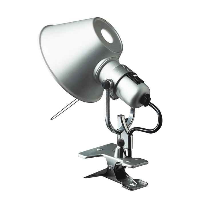 Artemide Tolomeo - Pinza clamp lamp, alu-silver