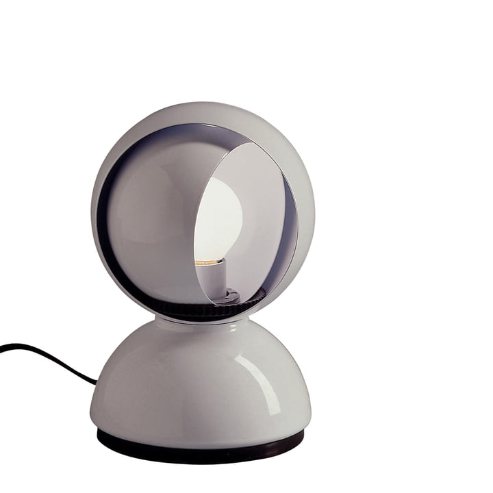 Artemide Eclisse table lamp, white