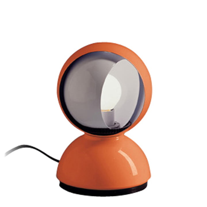 Artemide Eclisse table lamp, orange
