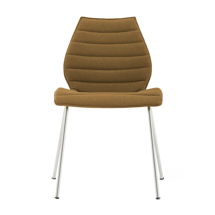 Maui Soft Chair from Kartell in Noma / mustard
