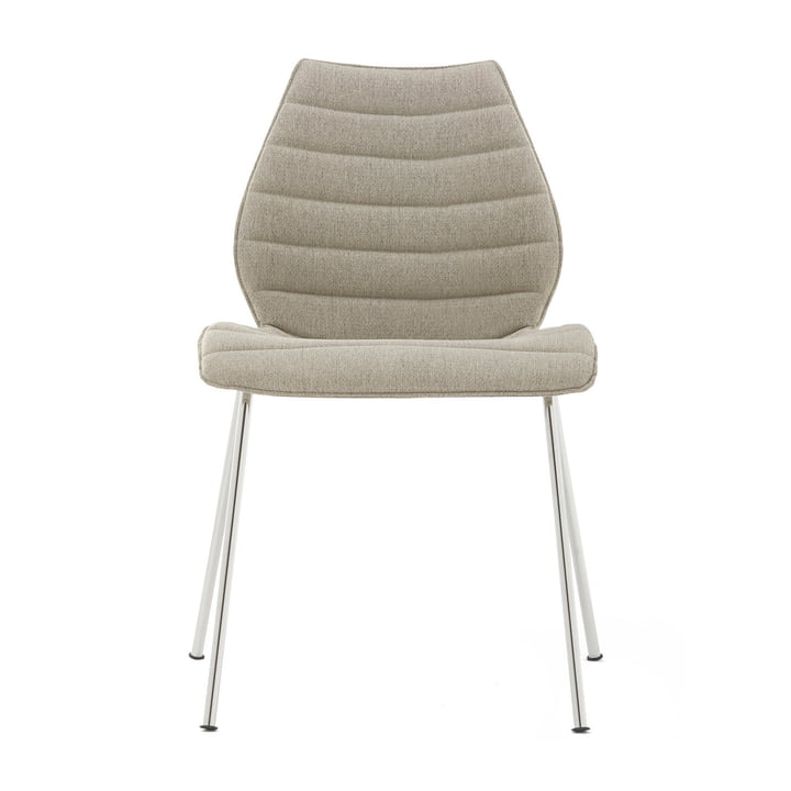 Maui Soft Chair from Kartell in Noma / beige