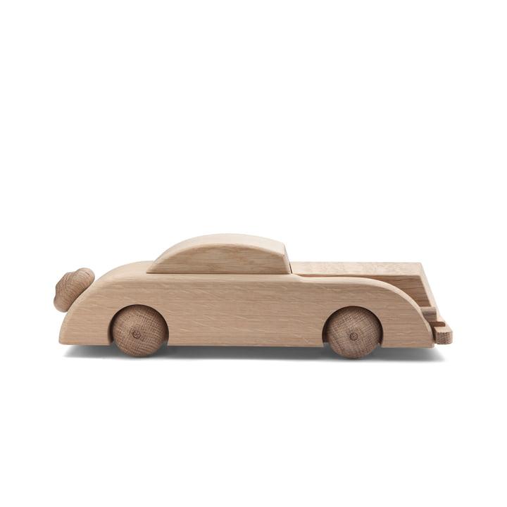 Limousine wooden figure large, oak from Kay Bojesen