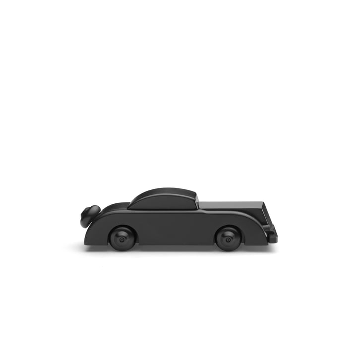 Limousine wooden figure small, black by Kay Bojesen