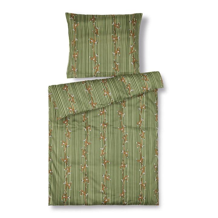 Monkey Baby bedding, 70 x 100 cm, green from Kay Bojesen