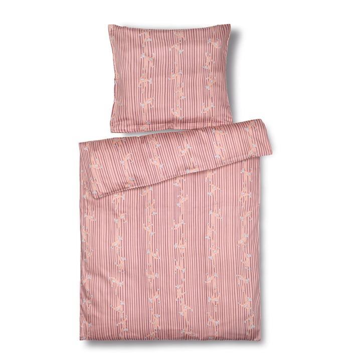Monkey Baby bedding, 70 x 100 cm, pink from Kay Bojesen