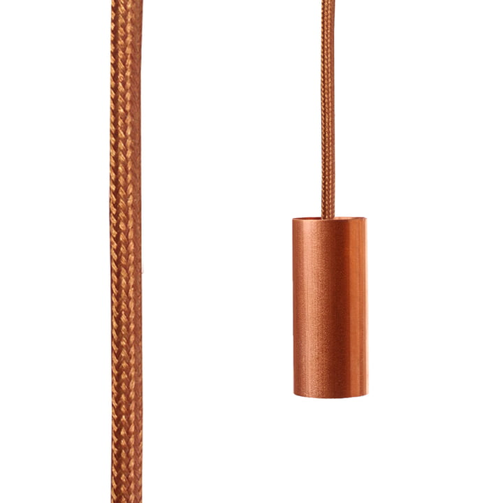 Tube Aqua in copper (TT16) by NUD collection