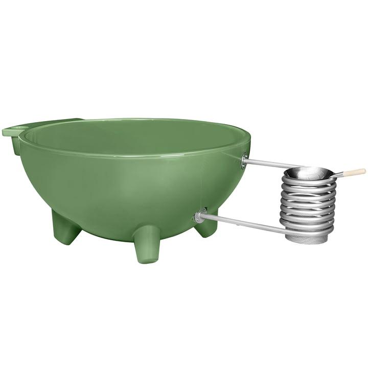 The Dutchtub Original from Weltevree in reseda green