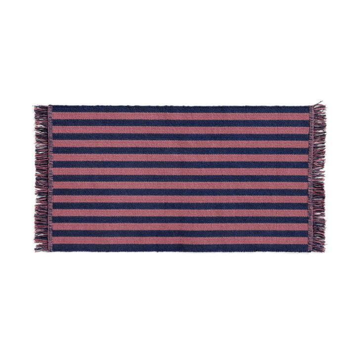 Stripes Doormat, 52 x 95 cm, navy cacao from Hay
