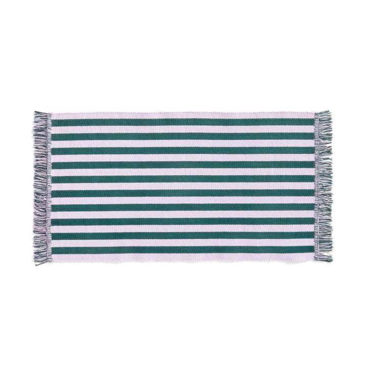 Stripes Doormat, 52 x 95 cm, lavender field from Hay
