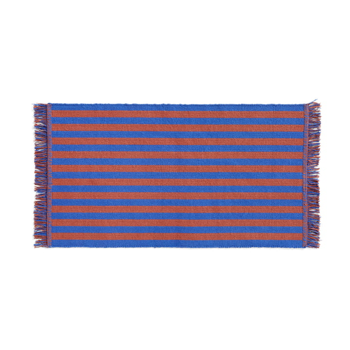 Stripes Doormat, 52 x 95 cm, cacao sky from Hay