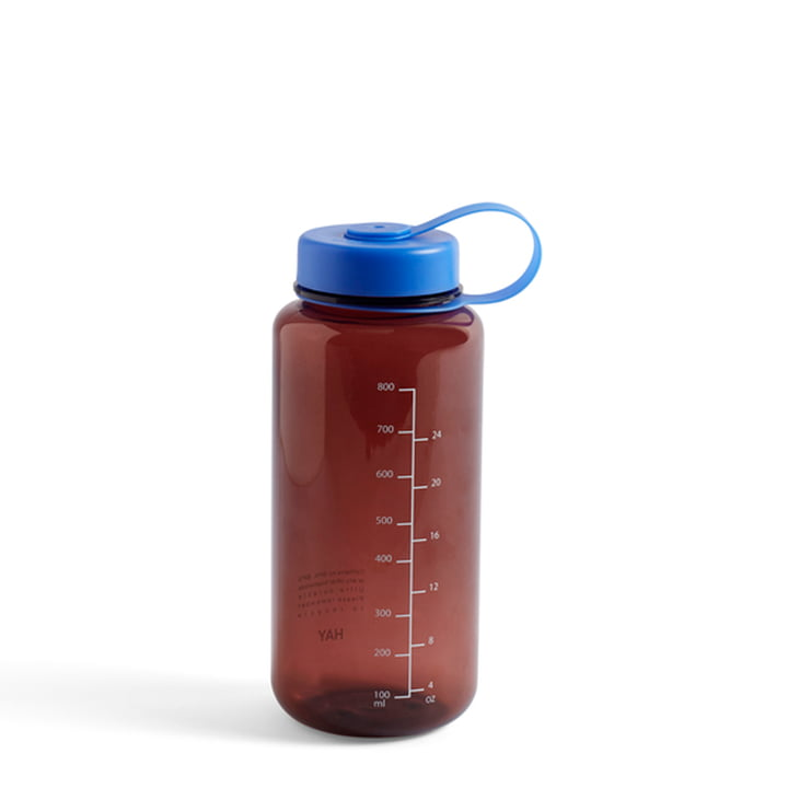 Water bottle, 0.9 L, burgundy from Hay
