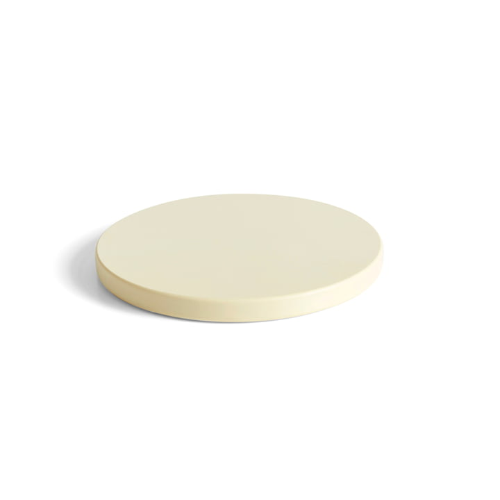 Round cutting board L, off-white from Hay