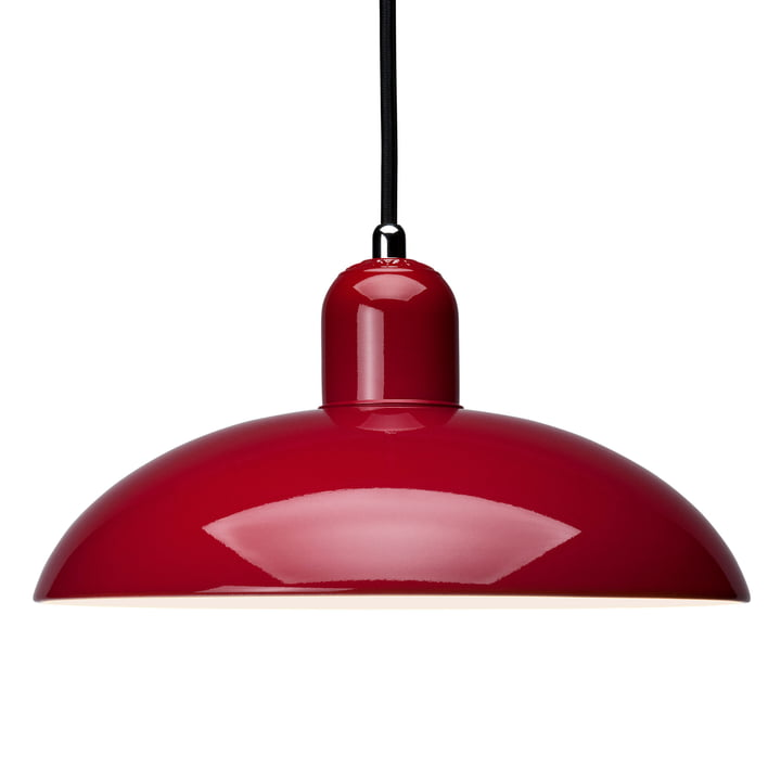 6631-P Pendant lamp, ruby red by KAISER idell