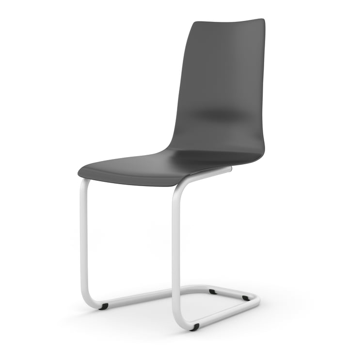 Cantilever chair from Tojo in black