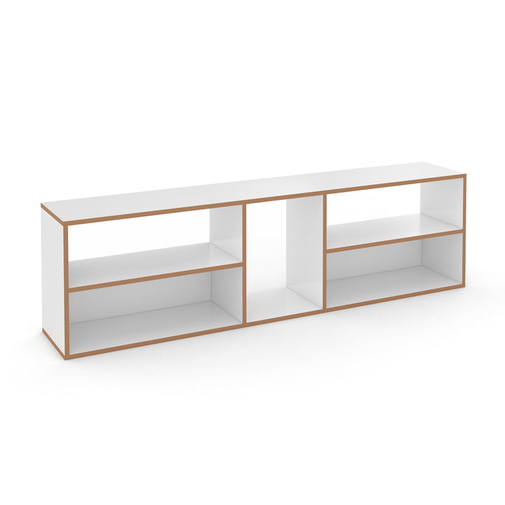 Hanibal shelving system from Tojo in low