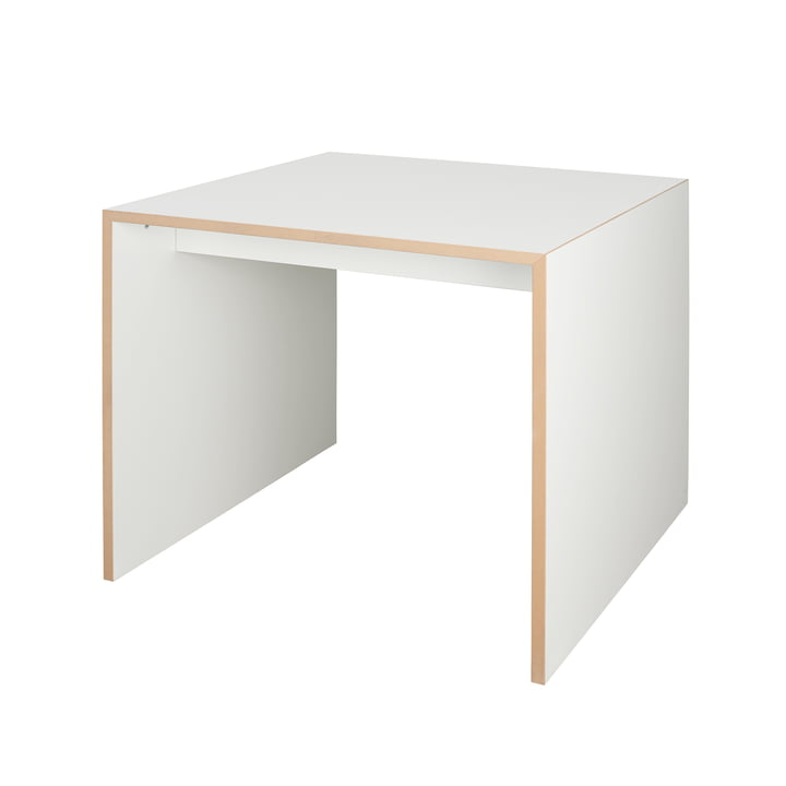 freistell Table 80 x 80 cm from Tojo in white