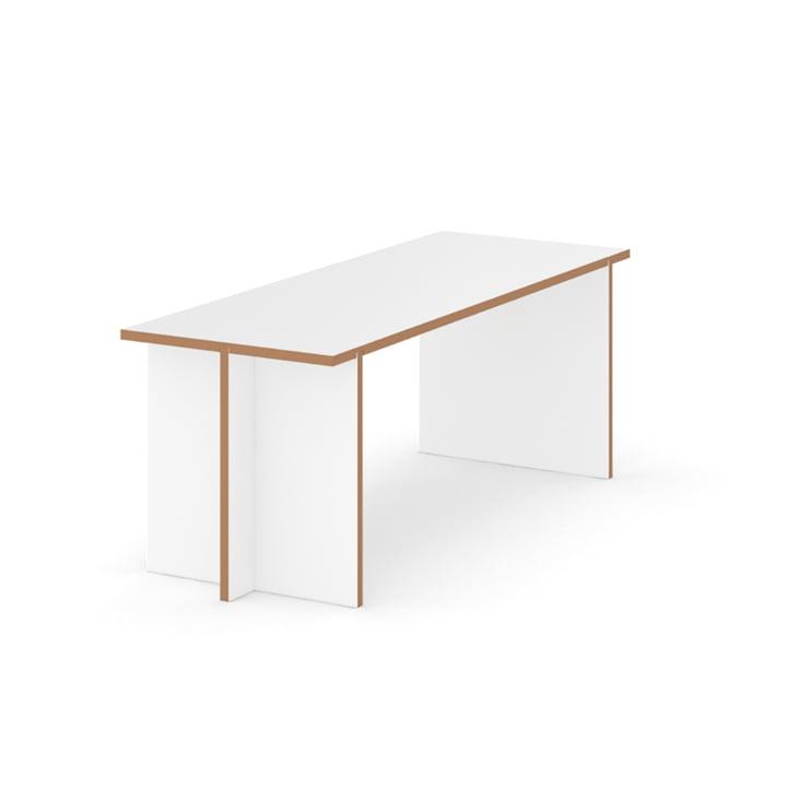 Bench 120 x 45 cm from Tojo in white