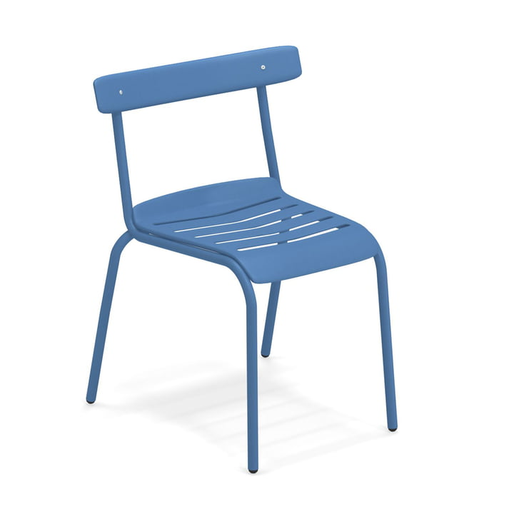 The Miky garden chair from Emu in blue