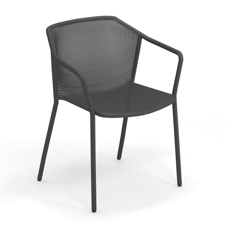 The Darwin armchair from Emu in antique iron
