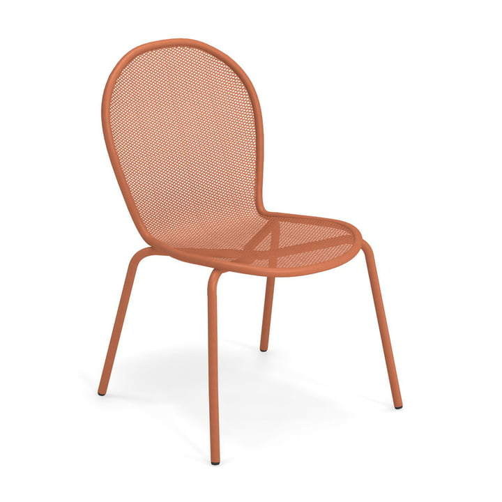 The Ronda Chair from Emu in maple red