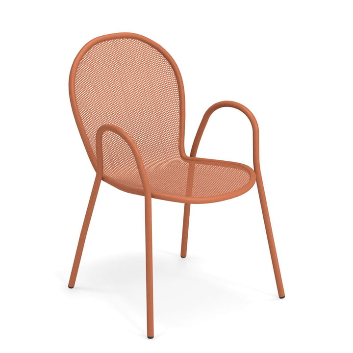 The Ronda armchair from Emu in maple red