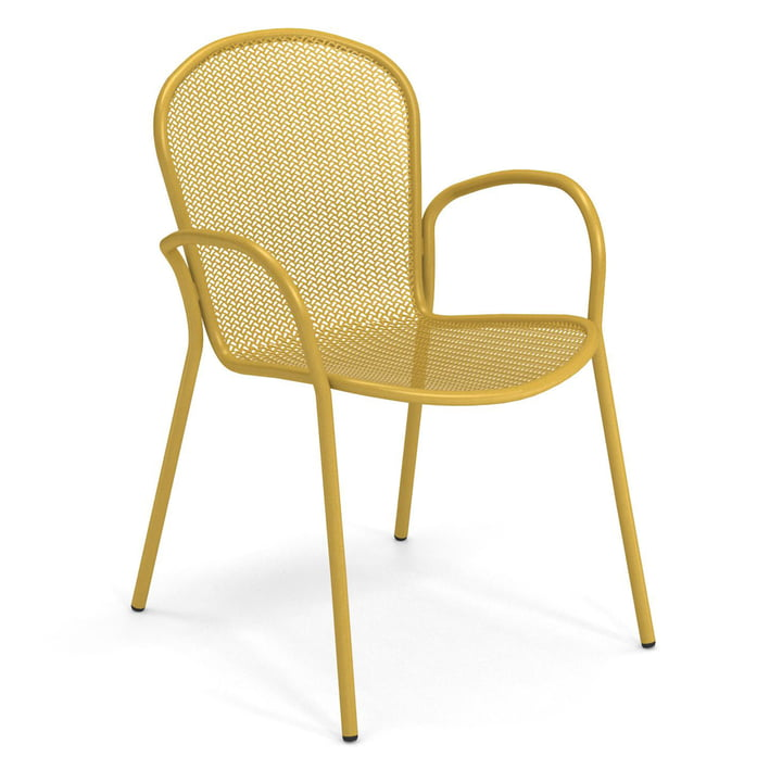 The Ronda XS armchair from Emu in curry