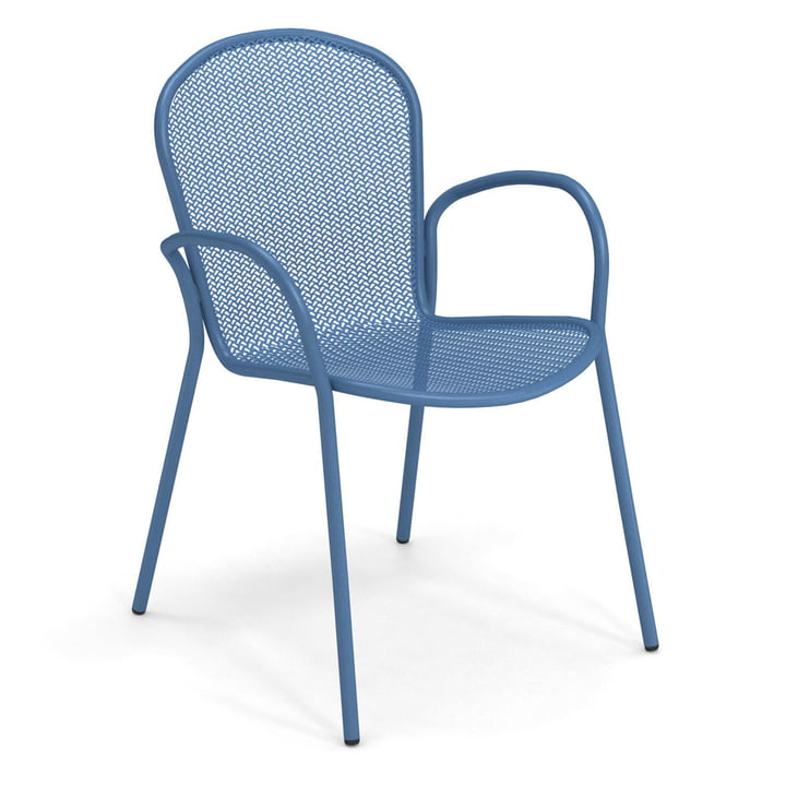 The Ronda XS armchair from Emu in blue
