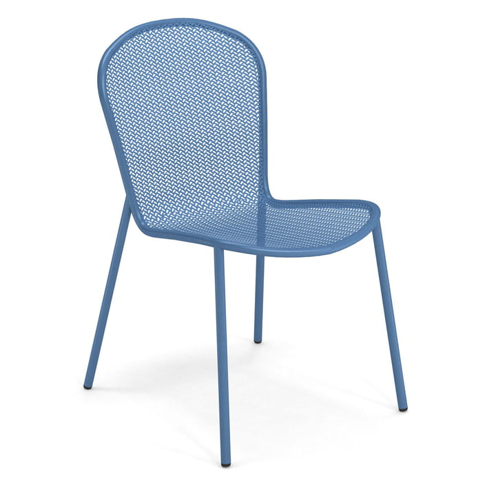 The Ronda XS garden chair from Emu in blue