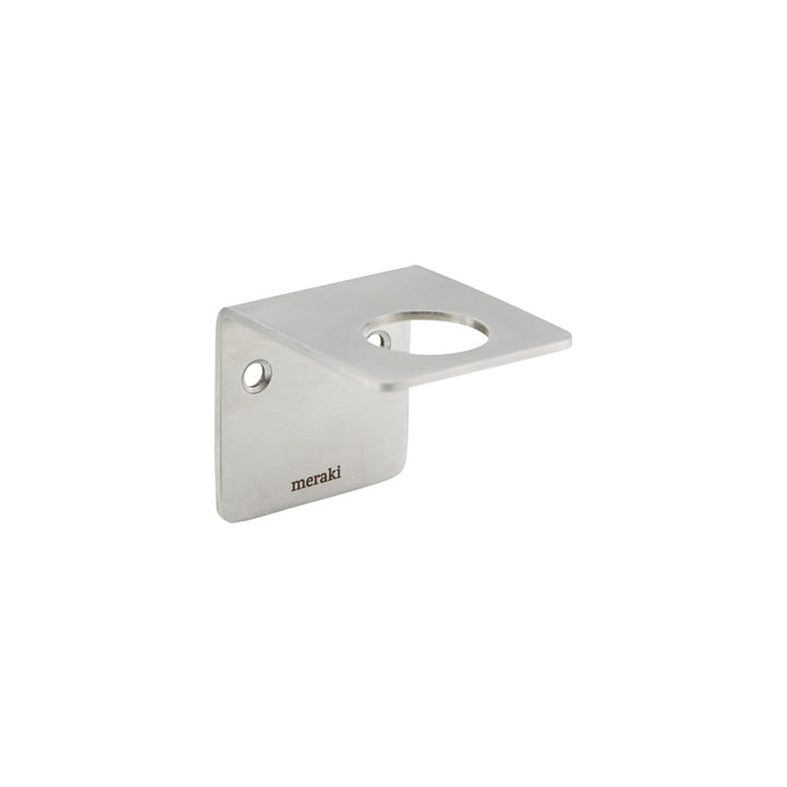 The Supply wall mount from Meraki in brushed silver finish