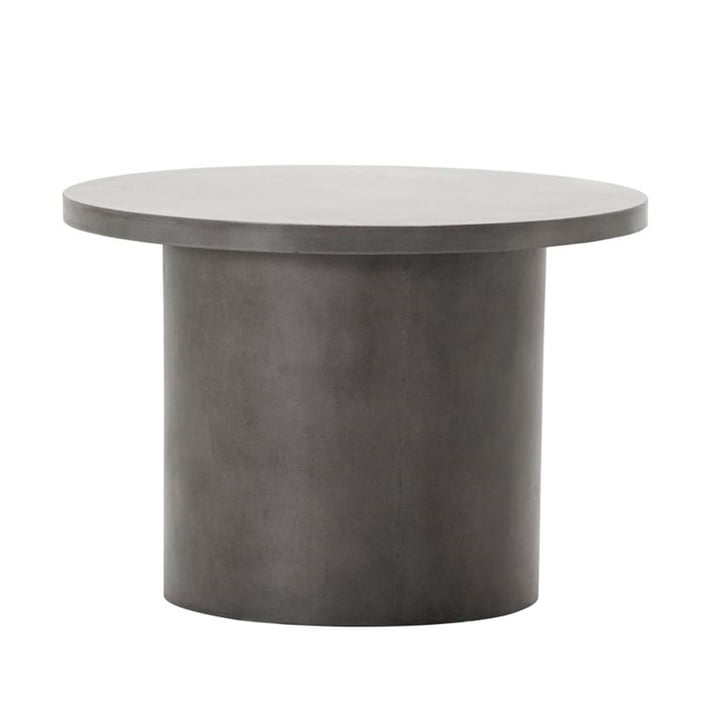The Stone concrete side table from House Doctor in grey, Ø 65 cm